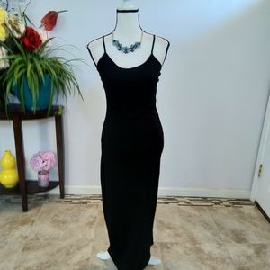 Forever 21 black Maxi dress size small